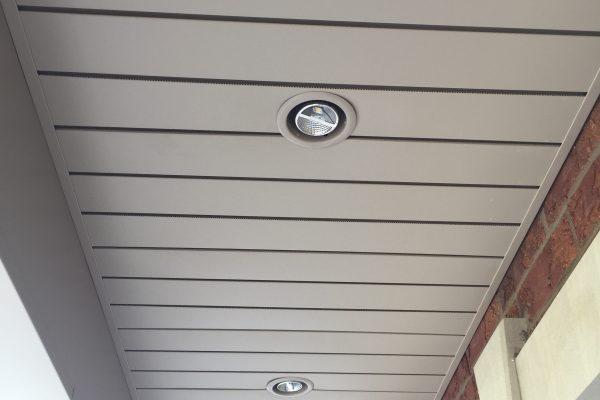 Soffite Ventilation Caché