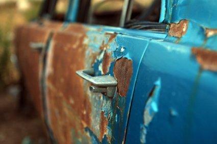 Rouille automobile
